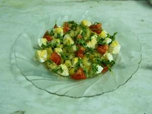 Egg and Potato Snack