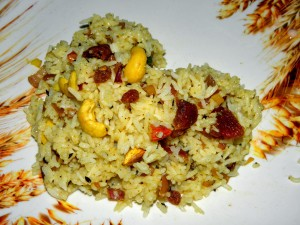 DRY FRUIT PULAO