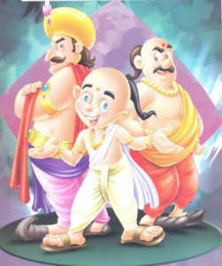 Tenali Raman and the Great Pundit