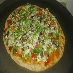 Chapati Pizza