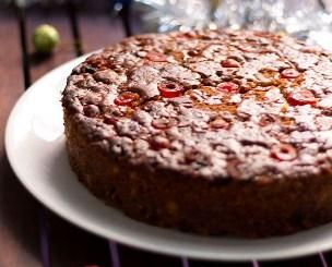 Eggless Fruit Cake Recipe