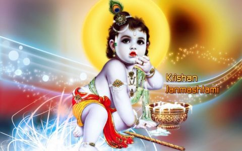 Celebrating Krishna Janmashtami 2016