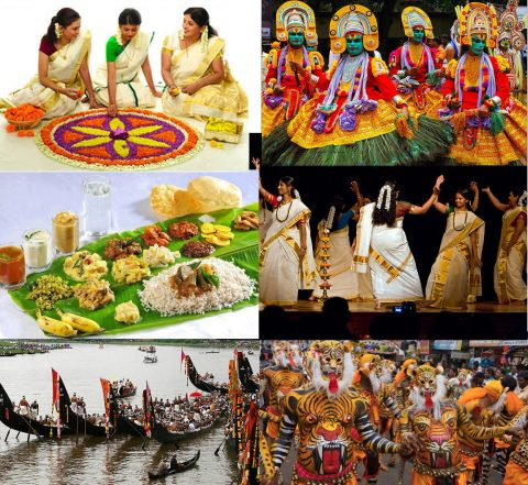 Major Attractions of Onam Festival