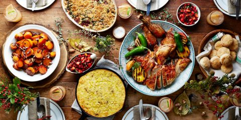 Christmas party menu ideas and foods that can be prepared in advance