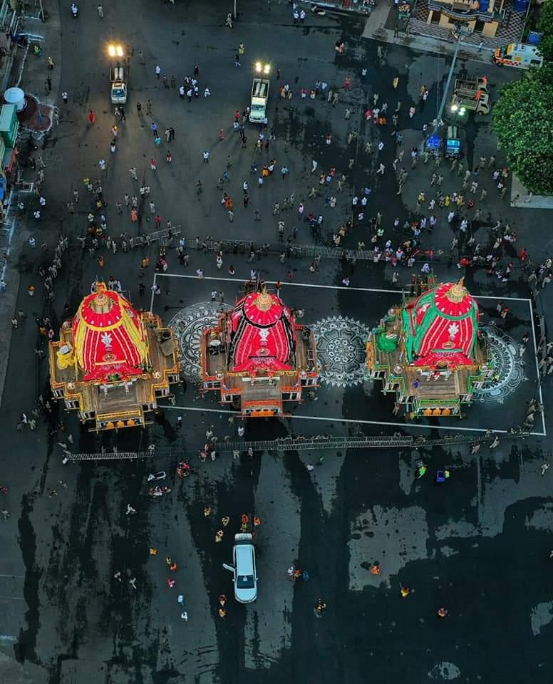 Chariots of Rath Yatra