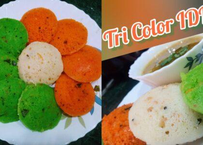 Tri Color Idli